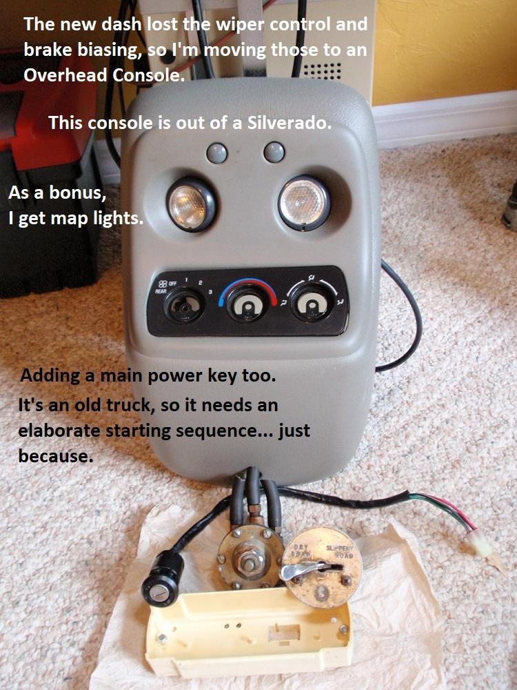 An Overhead Console.