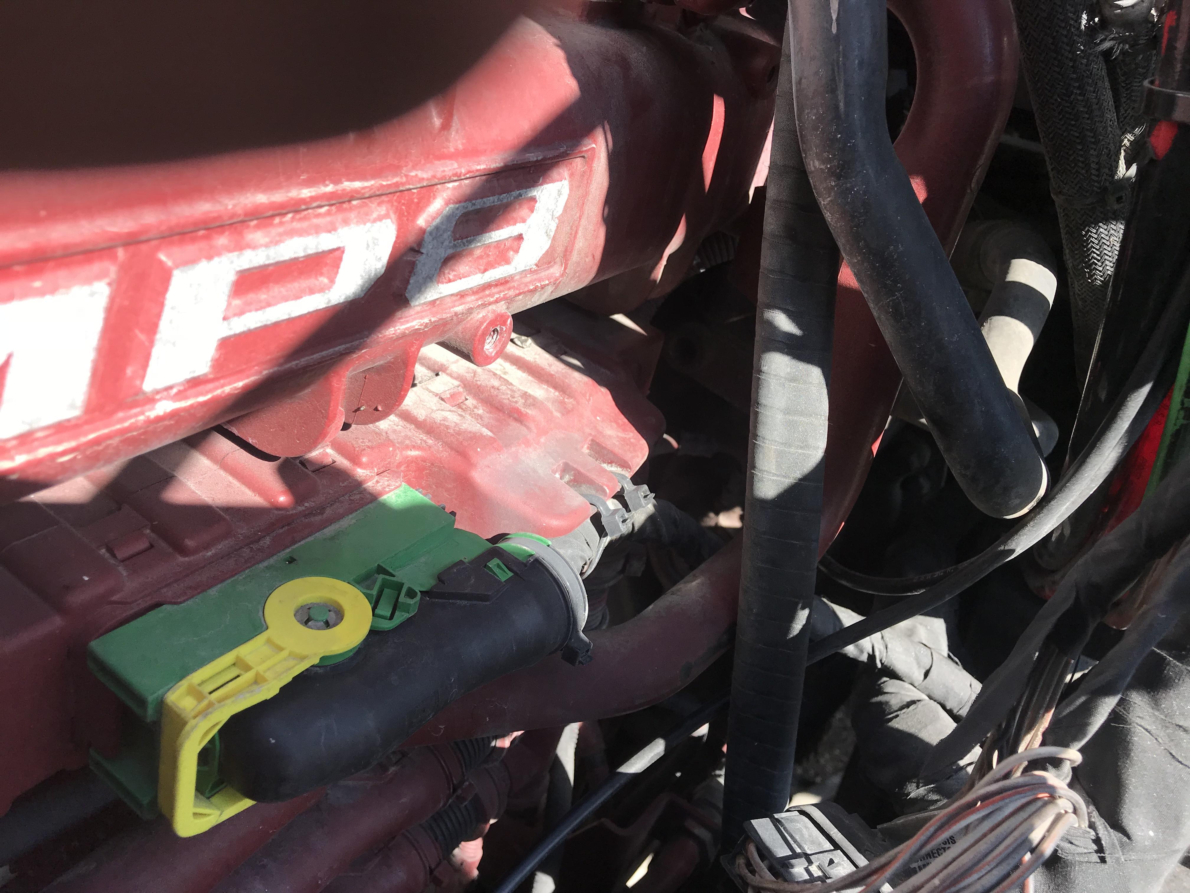 mack mp7 fuel pressure