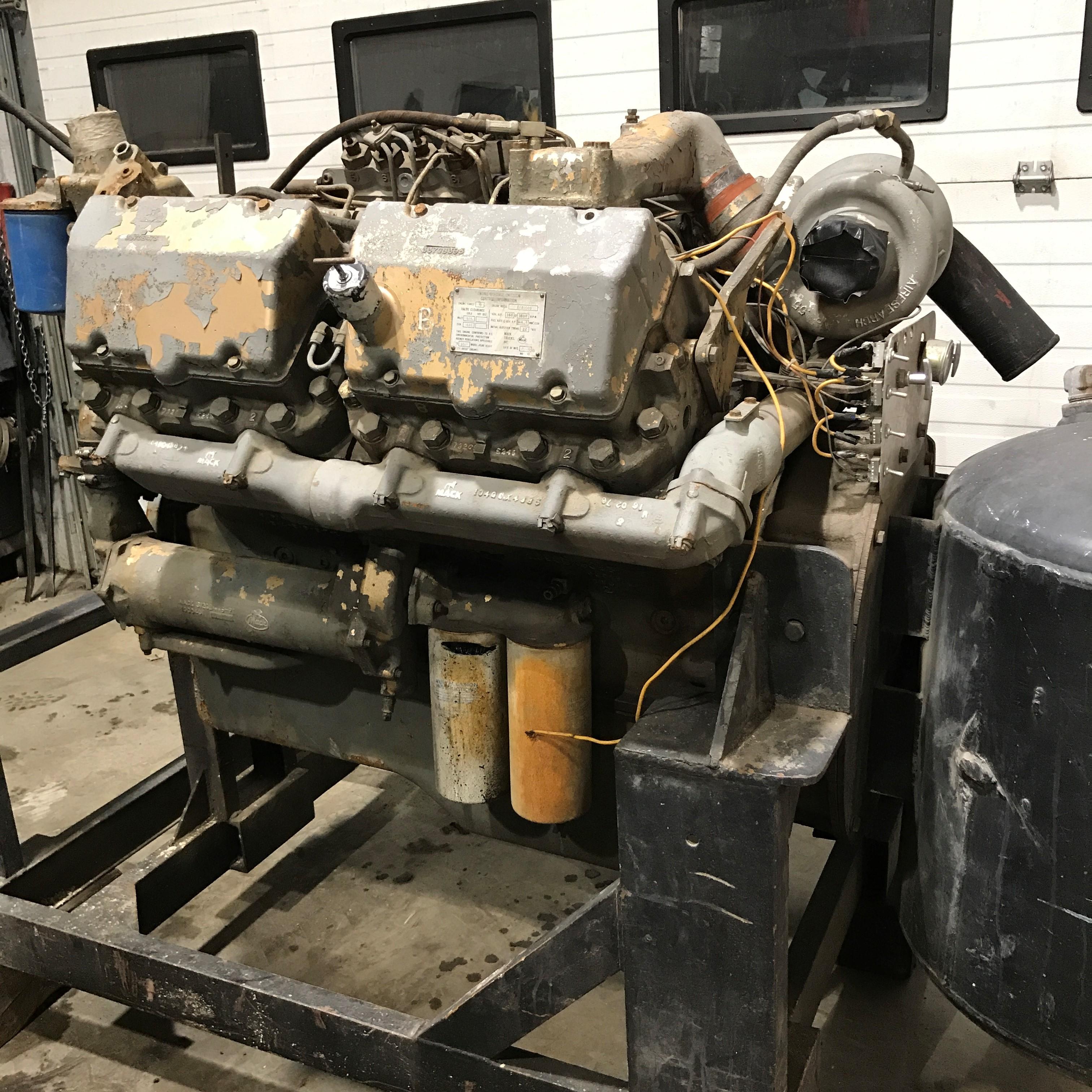 mack e9 engine