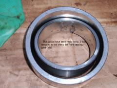 Inner & outer front bearings