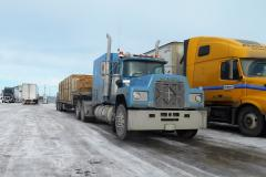Seen at the Husky Truckstop in Morris, Manitoba.
