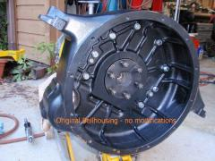 Motor to Flywheel Hub