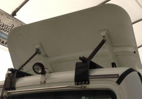 Roof-top Wind Deflector - Exterior, Cab, Accessories and Detailing