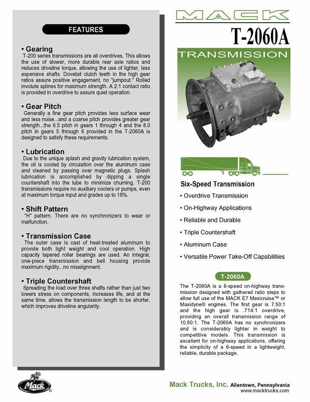 TM308 8-speed transmission - basic info needed - Engine and