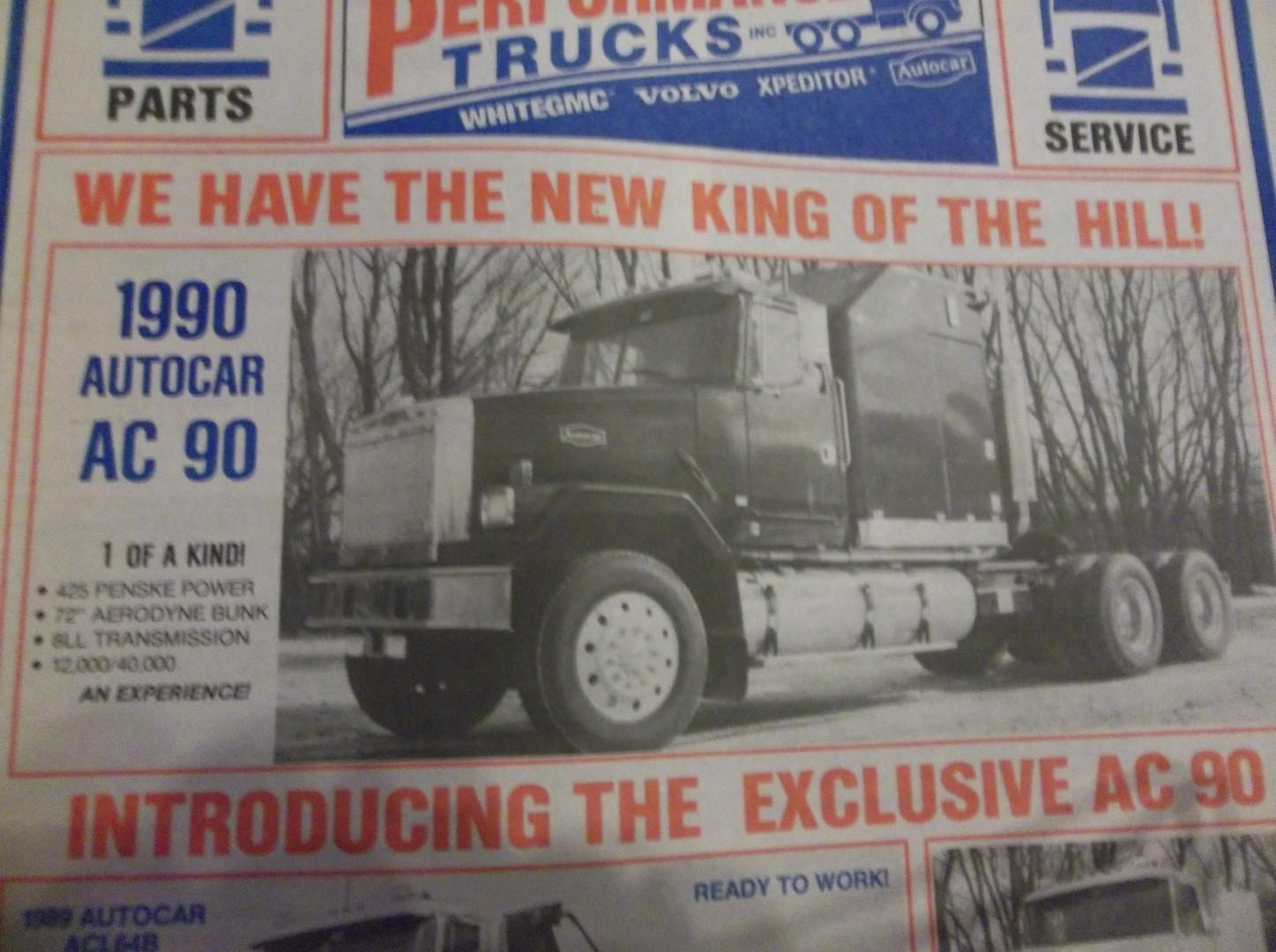 Superliner Replacement Modern Mack Truck General