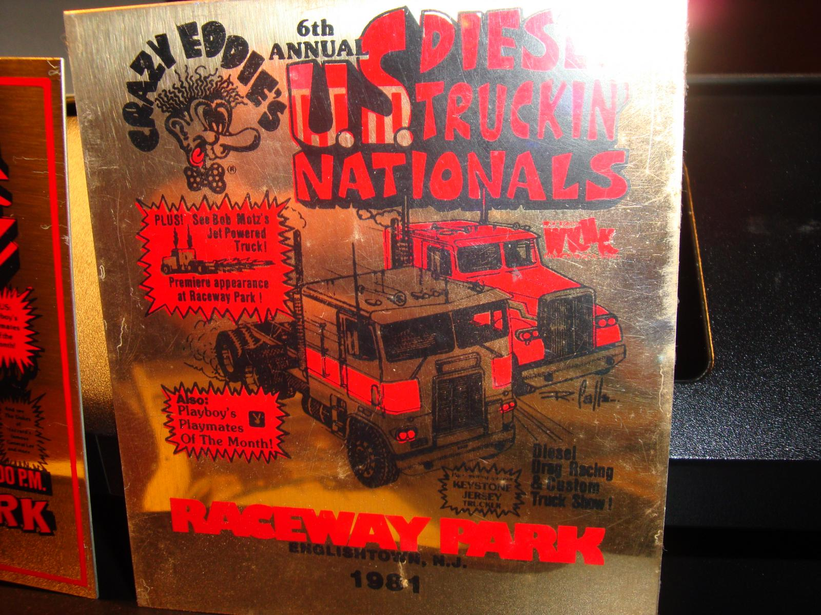 '49 EE taking break / englishtown races '82